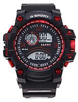 Недорогие -Муж. электронные часы Цифровой Спортивные силиконовый Черный Повседневные часы Цифровой Мода - Зеленый Розовое золото Золотой Один год Срок службы батареи