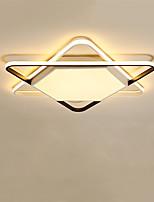 Недорогие -CONTRACTED LED® 3-Light Линейные Потолочные светильники Потолочный светильник Окрашенные отделки Металл LED 110-120Вольт / 220-240Вольт Теплый белый + белый