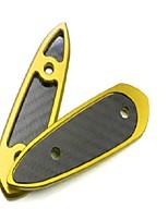 Недорогие -аксессуары для мотоциклов чпу алюминиевое зеркало отверстие для крышки для yamaha r3 yzf-r3 yzf-r25 yamaha