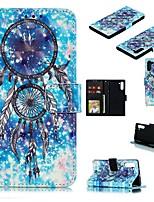 Недорогие -Кейс для Назначение SSamsung Galaxy Note 9 / Galaxy Note 10 / Galaxy Note 10 Plus Кошелек / Бумажник для карт / Защита от удара Чехол Мультипликация Кожа PU