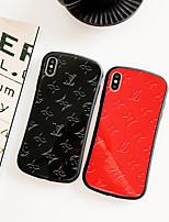 Недорогие -чехол для apple iphone xs / iphone xr / iphone xs max пыленепроницаемый / выкройка задней обложки слово / фраза жесткий ПК для iphone xr / 6/7/8 / 6p / 7p / 8p / x
