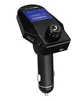 Недорогие -M8S большой светодиодный экран 5 В 2.5a Bluetooth автомобильное зарядное устройство handfree aux audio car mp3 музыкальный плеер