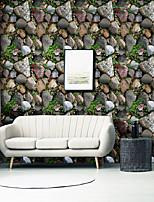 abordables -Vintage pierre auto-adhésif papier peint 3D étanche décor à la maison fonds d'écran pour salon décoratif stickers muraux 45 cm * 100 cm