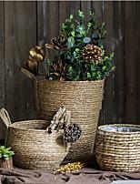 Недорогие -1шт Круглые Искуственные цветы Рустикальный