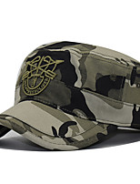 Недорогие -Муж. Классический Бейсболка Хлопок,Галактика Черный Светло-коричневый Военно-зеленный