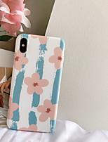 Недорогие -чехол для apple iphone xs / iphone xr / iphone xs max противоударный / imd / выкройка линий задней крышки / волны / цветное тпу / пластик для iphone6 / 6s плюс iphone7 / 8 plus iphonex / xs max / xr