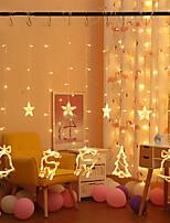 Недорогие -Brelong светодиодные рождественские струнные огни фестиваль украшения огни для крытого бара друзей вечеринка освещения