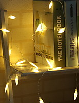 Недорогие -3M Гирлянды 20 светодиоды Тёплый белый Декоративная 5 V 1 комплект