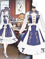 Недорогие -Вдохновлен Чудо никки Косплей Аниме Косплэй костюмы Японский Косплей вершины / дна Платье Назначение Жен.