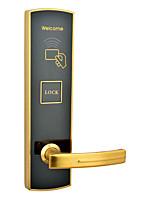 Недорогие -Замок карты цинкового сплава trf857 умный дом система безопасности отель RFID деревянная дверь (режим разблокировки карты)