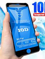 Недорогие -10d закаленное стекло на iphone xs max xr x 7 8 Защитная пленка для iphone 6 6s 7 8 плюс защитная пленка с полным покрытием