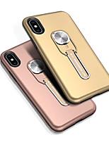 Недорогие -Кейс для Назначение SSamsung Galaxy Galaxy S10 / Galaxy S10 Plus / Galaxy S10 E Защита от удара / Кольца-держатели Кейс на заднюю панель Однотонный ТПУ