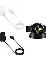 Недорогие -Портативная беспроводная быстрая зарядка источника питания для Samsung Galaxy Watch Активные часы