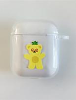 Недорогие -наушники носить сумку дизайн животных яблоко airpods устойчивый к царапинам силиконовой резины