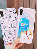 cheap -Dog Lovers Phone Case Shockproof TPU Protection Shell for Apple iPhone 11 Pro Max X XR XS Max 8 Plus 7 Plus 6 Plus SE