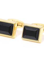 Недорогие -Запонки Классика Мода Брошь Бижутерия Золотой Назначение Свадьба Подарок