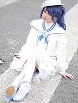 Недорогие -Вдохновлен Идентичность V Костюмы горничной Аниме Косплэй костюмы Японский Косплей Костюмы Косыночная повязка / Пальто / Блузка Назначение Жен.