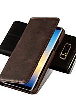 Недорогие -Мусубо ретро флип кожаный классический тонкий роскошный бизнес-чехол для телефона для Samsung Samsung Galaxy S9 S9 S9 плюс магнитный стенд кошелек полный корпус для Samsung Galaxy S8 S8 S8 плюс