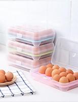 Недорогие -Высокое качество с Пластик Коробки для хранения Многофункциональный / Для Egg Кухня Место хранения 1 pcs