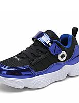 Недорогие -Мальчики Удобная обувь Полиуретан Спортивная обувь Большие дети (7 лет +) Черный / Синий Осень / Резина