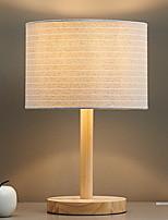 Недорогие -Современный современный Новый дизайн Настольная лампа Назначение Спальня / В помещении Дерево / бамбук 220 Вольт