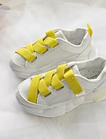 Недорогие -Девочки Сетка Спортивная обувь Маленькие дети (4-7 лет) Удобная обувь Зеленый / Оранжевый / Желтый Лето