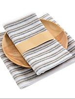 Недорогие -Высшее качество Полотенца для мытья, Полоски Хлопко-льняная смешанная ткань 1 pcs