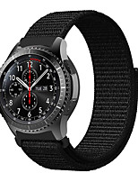 Недорогие -22мм плетеный нейлоновый спортивный ремешок для часового ремешка для часов Samsung Galaxy 46mm / gear s3 frontier / gear s3 classic