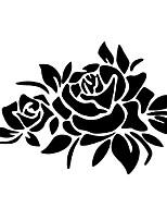 Недорогие -Черный Автомобильные наклейки Дверные наклейки / Наклейки с капюшоном / Наклейки для автомобилей Растения Стикеры