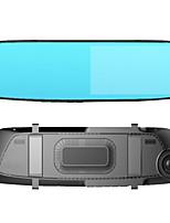 Недорогие -720p Full HD Автомобильный видеорегистратор 140° Широкий угол КМОП-структура 5 дюймовый Капюшон с Ночное видение / Обноружение движения / Циклическая запись Автомобильный рекордер