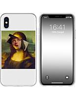 Недорогие -чехол для iphone x xs max xr xs задняя крышка мягкий чехол тпу творческий рисунок подделка art soft tpu для iphone5 5s se 6 6p 6s sp 7 7p 8 8p16 * 8 * 1