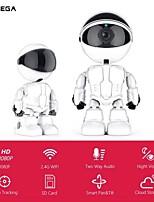 Недорогие -Inqmega 1080p облако IP-камера робот интеллектуальная камера Wi-Fi робот камера домашней безопасности беспроводной камеры видеонаблюдения