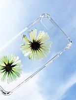 Недорогие -чехол для яблока iphone xs / iphone xr / iphone xs max ударопрочный / пыленепроницаемый задний чехол с цветочным тпу для iphone 7/7 plus / 8/8 plus / 6/6 plus / x / xs