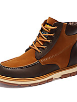 Недорогие -Муж. Армейские ботинки Полиуретан Лето Ботинки Черный / Синий / Коричневый / на открытом воздухе