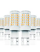 Недорогие -Loende 6 упак. 6 Вт, затемненные светодиодные кукурузы