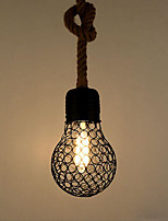 Недорогие -Подвесные лампы Рассеянное освещение Окрашенные отделки Металл Творчество 110-120Вольт / 220-240Вольт