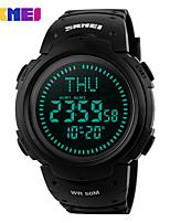 Недорогие -Skmei 1231 открытый мода ночник спортивные многофункциональные индивидуальные водонепроницаемые электронные часы
