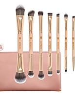 Недорогие -профессиональный Кисти для макияжа 7pcs Мягкость Новый дизайн обожаемый Деревянные / бамбуковые за Косметическая кисточка