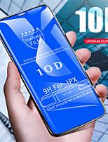 Недорогие -10d защитное стекло для iphone x 7 8 плюс 10 d закаленное стекло для iphone 7 8 x стеклянный чехол ix i7 film