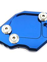 Недорогие -подставка для мотоцикла Kickstand алюминиевая боковая подставка увеличить основание для BMW F800gs 08-15
