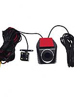 Недорогие -720p HD / с задней камерой Автомобильный видеорегистратор 170° Широкий угол Капюшон с Ночное видение / Запись цикла 4 инфракрасных LED Автомобильный рекордер