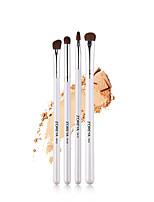 Недорогие -профессиональный Кисти для макияжа 4шт Мягкость обожаемый удобный Деревянные / бамбуковые за Косметическая кисточка