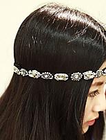 Недорогие -Жен. модный Мода Ткань Цирконий Украшения для волос