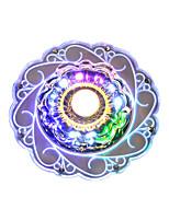 Недорогие -2-Light Кристаллы Потолочные светильники Рассеянное освещение Окрашенные отделки Акрил Несколько цветов, Градиент общий RGB / Разноцветный