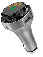 Недорогие -стерео металл bluetooth громкая связь FM-передатчик автомобильный mp3-плеер