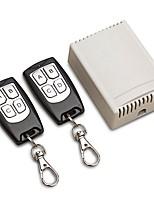 Недорогие -12v 4ch канал 433mhz беспроводной пульт дистанционного управления интегральная схема с 2 передатчик diy заменить комплекты инструментов наборы инструментов