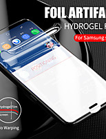 cheap -full cover protective film on the for samsung galaxy s10e s8 s9 plus s10 e hydrogel film for note 8 9 screen protector not glass