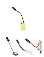 Недорогие -белый лампа для чтения светодиодные t10 автомобиль светодиодные парковочные лампы 16smd авто интерьер панели освещения