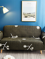 Недорогие -чехлы на диван одуванчик с набивным рисунком полиэстер