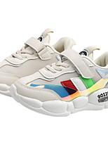 Недорогие -Девочки Удобная обувь Сетка Спортивная обувь Маленькие дети (4-7 лет) Белый / Черный Лето
